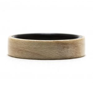 Maple Inner Lined With Ebony Wood Ring