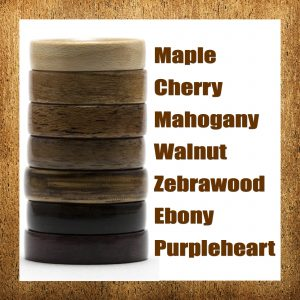 Classic Wood Rings