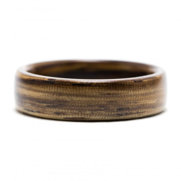 Zebrawood wooden ring