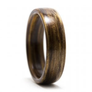 Zebrawood Wooden Ring – Size 10.5