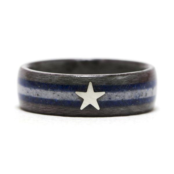 Dallas Cowboys Wood Ring