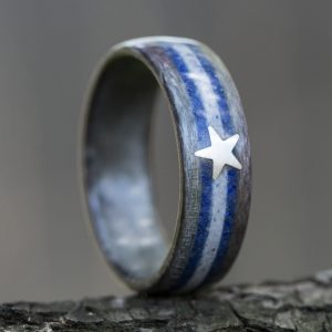 Dallas Cowboys Wooden Ring