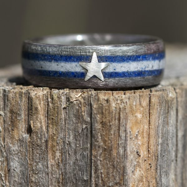Dallas Cowboys Wood Ring